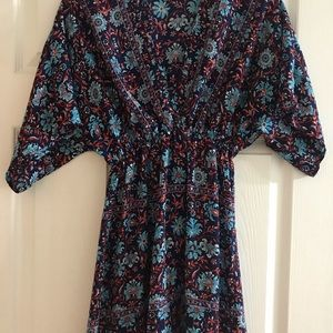 Beautiful blue floral tunic